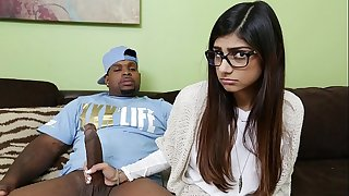 MIA KHALIFA - She's Never Tried Big Black Dick Before, So She Asks Rico Intense