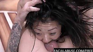 Deep Raunchy BJ for cute puny Asian