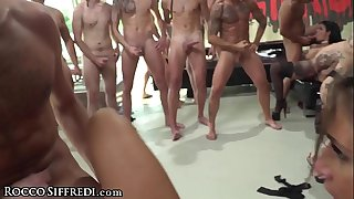RoccoSiffredi Euro Lovemaking Soiree With DP Anal Woman On Woman & MORE