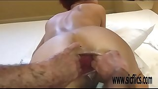 Double ass fucking fisting amateur slut Maria