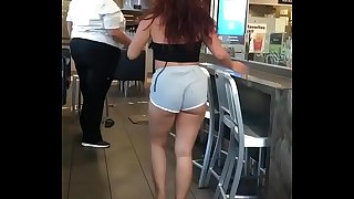 Wailing fight in McDonald's