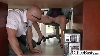 Hardcore Sex Scene In Office With Whore Wild Chesty Girl (lela star) clip-21