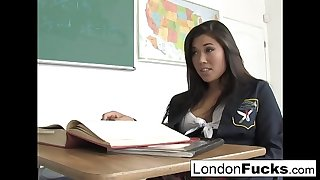 London has to stay after class