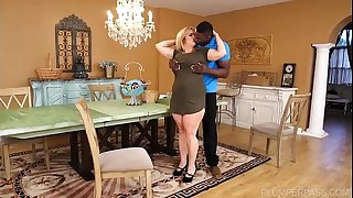 Busty BBW Cougar Cami Cooper Get Some Thick Black Shaft